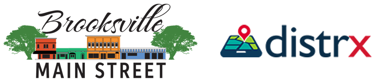 Brooksville Main Street Logo